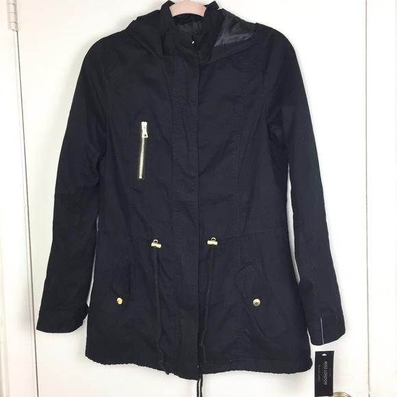 Nwt Miss London Black Label winter coat jacket medium light weight